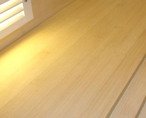 Horizontal Natural Bamboo Floors