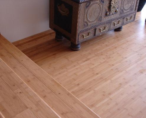Horizontal Coffee Bamboo Floors