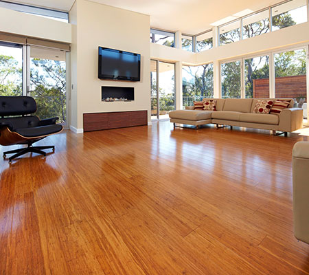 Moso Coffee Bamboo Flooring Job Shot 7