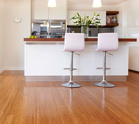 Moso Coffee Bamboo Flooring Job Shot 3